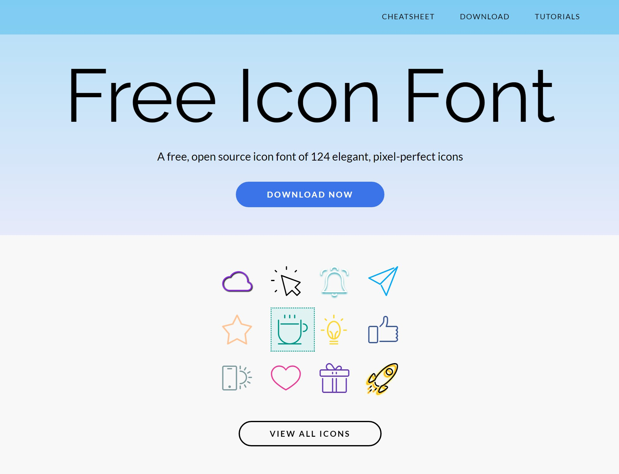 Create Icon Fonts