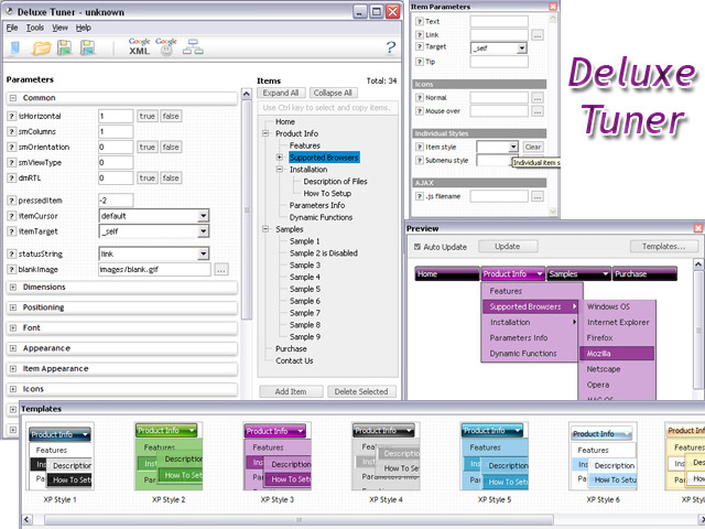 Yui Tree Right Click Menu Sample Expandable Menu And Tree