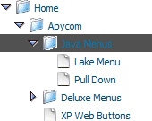Slide Down Menu And Tree Tree Menu With Xml Data Source
