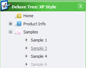 Tree Form Drop Down Menu Treeview Template