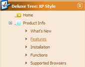 Drag Mouse Over Tree Simple Tree Menu Script