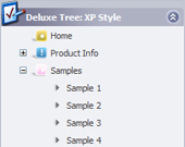 Tree Toolbar Horizontal Menu Treeview Windows Vista Style