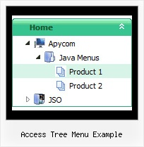 Access Tree Menu Example Tree Tutorial Expanding Menu