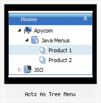 Acts As Tree Menu Tree Cool Example