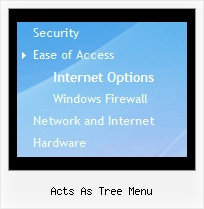 Acts As Tree Menu Tree Rolldown Menu Tutorial