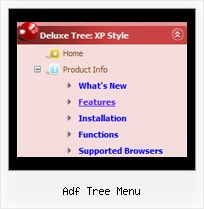 Adf Tree Menu Menu Tree Top