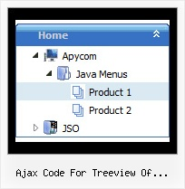 Ajax Code For Treeview Of Directory Sliding Tree Menu Tree