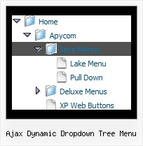 Ajax Dynamic Dropdown Tree Menu Javascript Folding Tree Menu