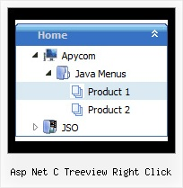 Asp Net C Treeview Right Click Tree Toolbar Disabled