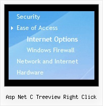 Asp Net C Treeview Right Click Tree Scroll Down Menu