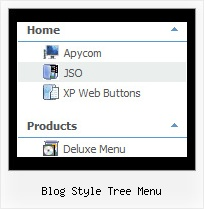 Blog Style Tree Menu Xp Slide Menu Tree