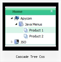 Cascade Tree Css Side Navigation Bar Tree