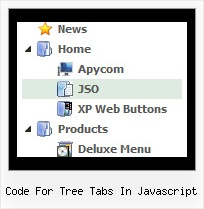 Code For Tree Tabs In Javascript Tree Menu Buttons