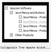 Collapsible Tree Apache Wicket Example Javascript Tree Folding