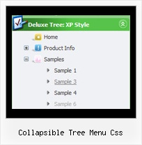 Collapsible Tree Menu Css Tree Menu Xp Style