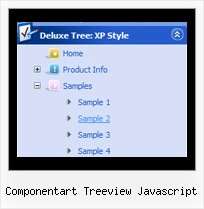 Componentart Treeview Javascript Tree Pulldown Sliding