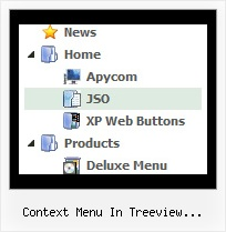 Context Menu In Treeview Javascript Tree Windows Xp Style Menu