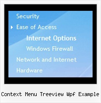 Context Menu Treeview Wpf Example Menu Con Mouseover Tree
