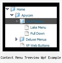 Context Menu Treeview Wpf Example Select Tree