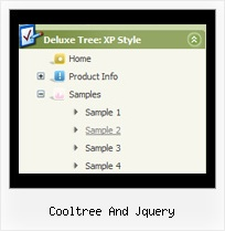 Cooltree And Jquery Drop Down Menu Cascading Tree