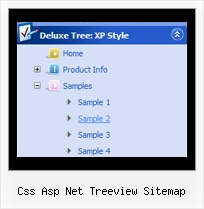 Css Asp Net Treeview Sitemap Tree Menu With Icons