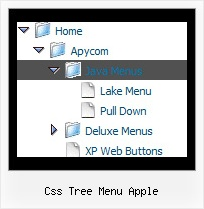 Css Tree Menu Apple Tree Xp Style Menu