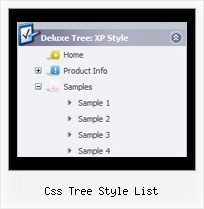 Css Tree Style List Tree Pulldown Menu Tutorial