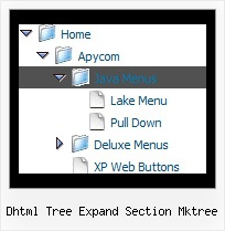 Dhtml Tree Expand Section Mktree Scroll Tree