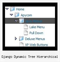 Django Dynamic Tree Hierarchical Tree Menu Tree Dhtml
