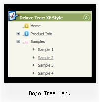 Dojo Tree Menu Pulldownmenu Javascript Tree