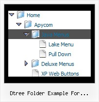 Dtree Folder Example For Javascript Tree View Menue Creator