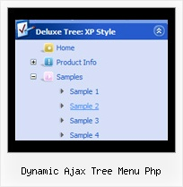 Dynamic Ajax Tree Menu Php Menu Tree Rolldown
