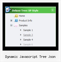 Dynamic Javascript Tree Json Tree Dinamic Position