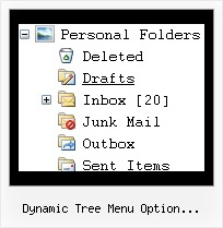 Dynamic Tree Menu Option Selection Form Tree For Trees