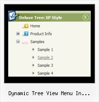 Dynamic Tree View Menu In Silverlight Tree Examples Menu Bar