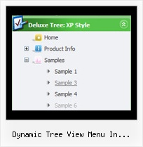 Dynamic Tree View Menu In Silverlight Cool Menus Dhtml Tree