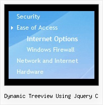 Dynamic Treeview Using Jquery C Tree Menu Vertical Cascade