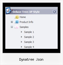 Dynatree Json Tree Menu Dropdown