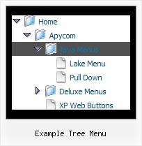 Example Tree Menu Tree Popup With Shadow