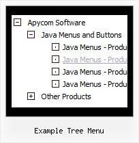Example Tree Menu Tree Menu Disable