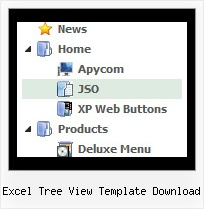Excel Tree View Template Download Tree View Menu Maker