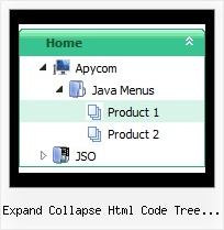 Expand Collapse Html Code Tree View Tree Xml Cascading Menu