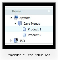 Expandable Tree Menus Css Tree Menu With Shadow
