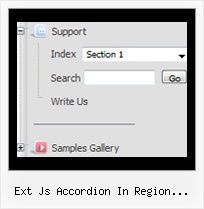 Ext Js Accordion In Region Dhtmlxtree Tree Right Click Popup Menu