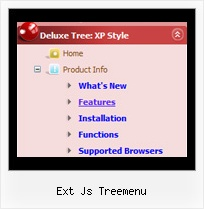 Ext Js Treemenu Slide Menu Tree Tutorial