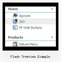 Flash Treeview Example Tree Menu Cascade