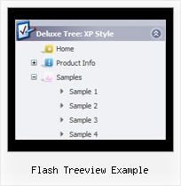 Flash Treeview Example Floating Tree