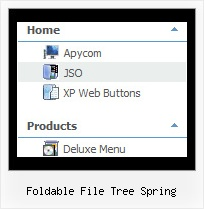 Foldable File Tree Spring Javascript Tree Menu Tutorial