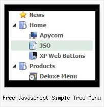 Free Javascript Simple Tree Menu Tree Dropdown Navigation