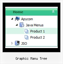 Graphic Manu Tree Tree Menu Mouse Over